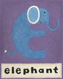 E is for Elephant by Chariklia Zarris