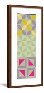 Elementary Tile Panel I by Chariklia Zarris