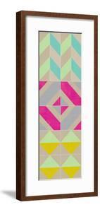 Elementary Tile Panel II by Chariklia Zarris