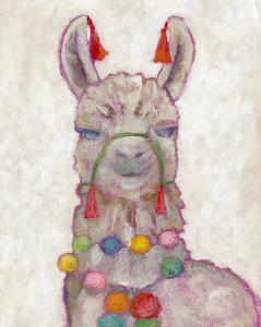Festival Llama I by Chariklia Zarris