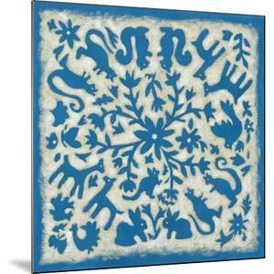 Folk Story in Blue by Chariklia Zarris