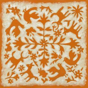 Folk Story in Orange by Chariklia Zarris