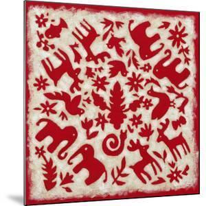 Folk Story in Red by Chariklia Zarris