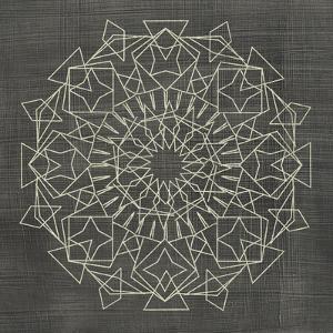 Geometric Tile I by Chariklia Zarris