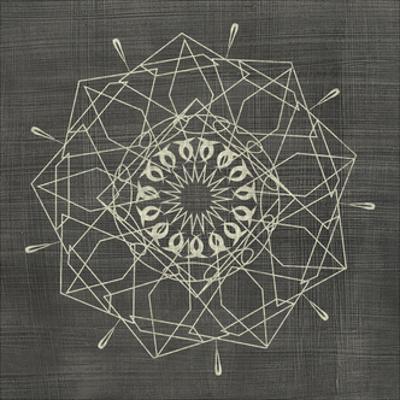 Geometric Tile II by Chariklia Zarris