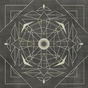 Geometric Tile IX by Chariklia Zarris