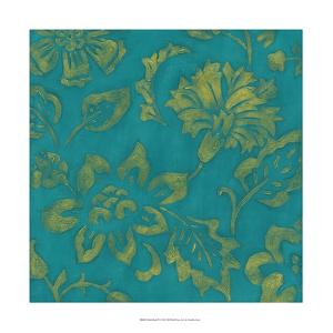 Gilded Batik IV by Chariklia Zarris