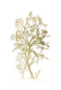 Gold Foil Chinoiserie II by Chariklia Zarris