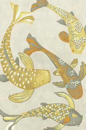 Golden Koi I by Chariklia Zarris