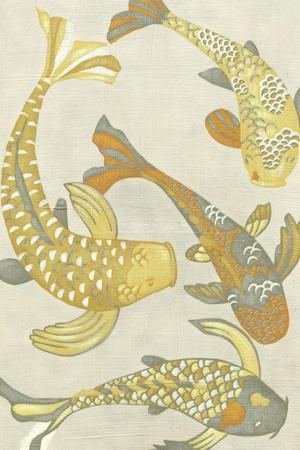 Golden Koi I