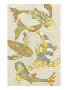 Golden Koi II by Chariklia Zarris