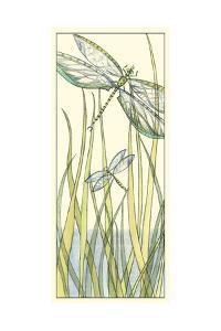 Gossamer Dragonflies II by Chariklia Zarris