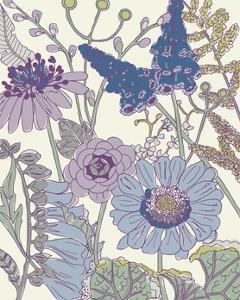 Graphic Garden IV by Chariklia Zarris