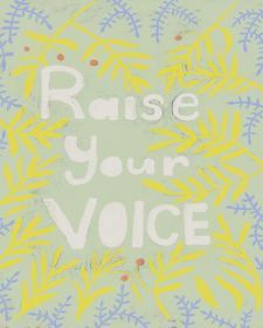 Her Voice I by Chariklia Zarris
