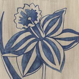 Indigo Daffodil by Chariklia Zarris