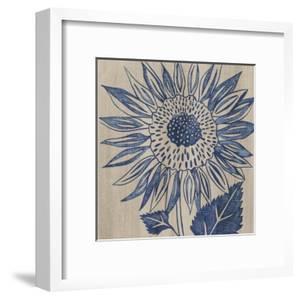 Indigo Sunflower by Chariklia Zarris