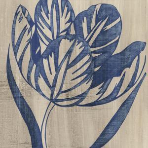 Indigo Tulip by Chariklia Zarris