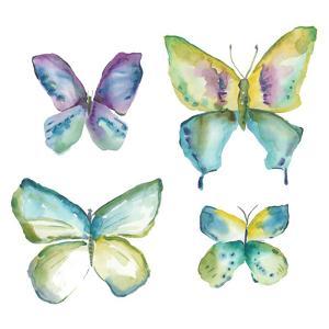 Jeweled Butterflies II by Chariklia Zarris