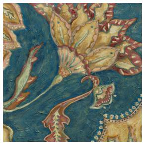Lapis Paisley III by Chariklia Zarris