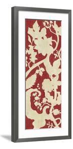 Linen Silhouette on Red II by Chariklia Zarris