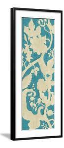 Linen Silhouette on Teal II by Chariklia Zarris