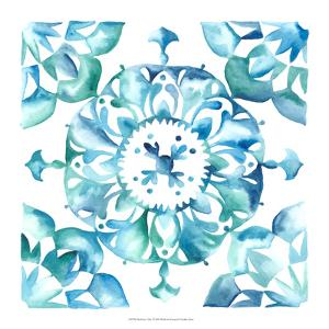 Meditation Tiles I by Chariklia Zarris