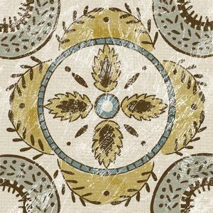Non-Embellished Batik Square VII by Chariklia Zarris