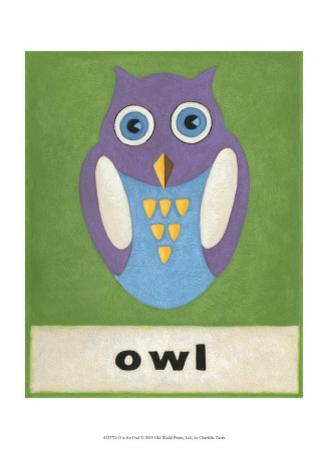 O is for Owl by Chariklia Zarris