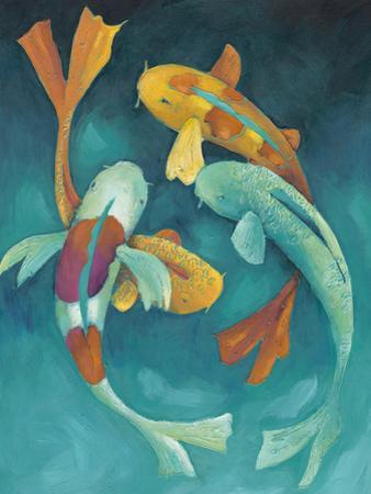 Ornamental Koi II by Chariklia Zarris