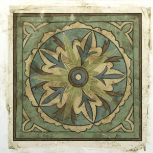 Ornamental Tile II by Chariklia Zarris
