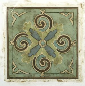 Ornamental Tile V by Chariklia Zarris