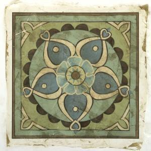 Ornamental Tile VI by Chariklia Zarris