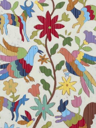 Otomi Embroidery I by Chariklia Zarris