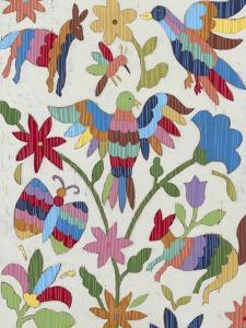 Otomi Embroidery II by Chariklia Zarris
