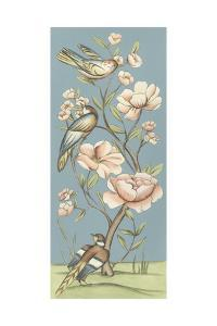 Pastel Chinoiserie I 2-Up by Chariklia Zarris