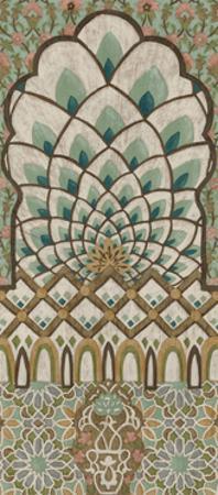 Peacock Tapestry I by Chariklia Zarris
