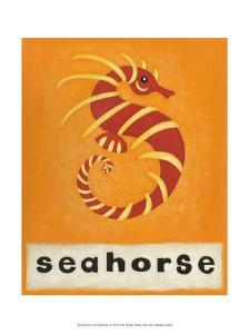 S is for Seahorse by Chariklia Zarris