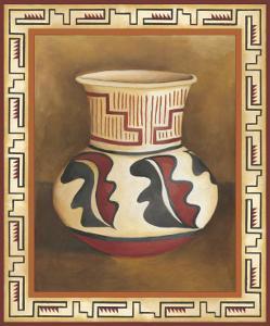 Southwest Pottery III by Chariklia Zarris
