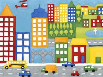 Storybook City by Chariklia Zarris