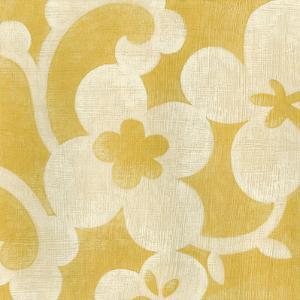 Suzani Silhouette in Yellow I by Chariklia Zarris