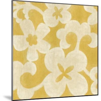 Suzani Silhouette in Yellow II