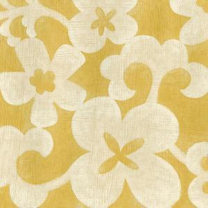Suzani Silhouette in Yellow II by Chariklia Zarris