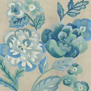 Turquoise Chintz I by Chariklia Zarris