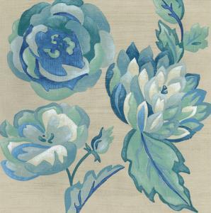 Turquoise Chintz II by Chariklia Zarris