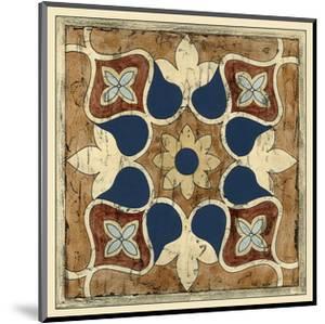 Vintage Woodblock II by Chariklia Zarris