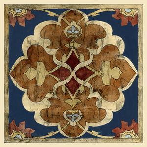 Vintage Woodblock III by Chariklia Zarris