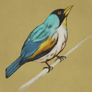 Winged Sketch II on Ochre by Chariklia Zarris