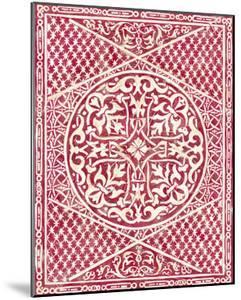 Woodcut in Red I by Chariklia Zarris