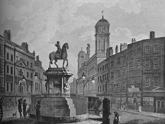'Charing Cross and Northumberland House', 1907-Unknown-Giclee Print