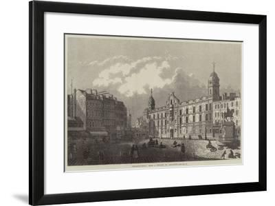 Charing-Cross-Antonio Canaletto-Framed Giclee Print